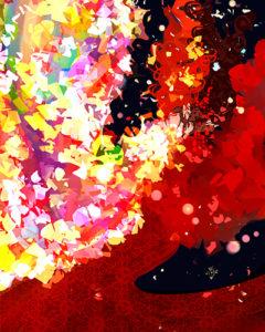 michi / chrysanthemum skies